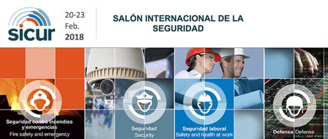 Feria SICUR 2018 empresas de seguridad en Madrid
