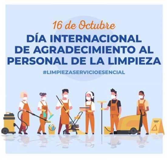 Día Internacional de Agradecimiento al Personal de Limpieza. Empresas servicios integrales