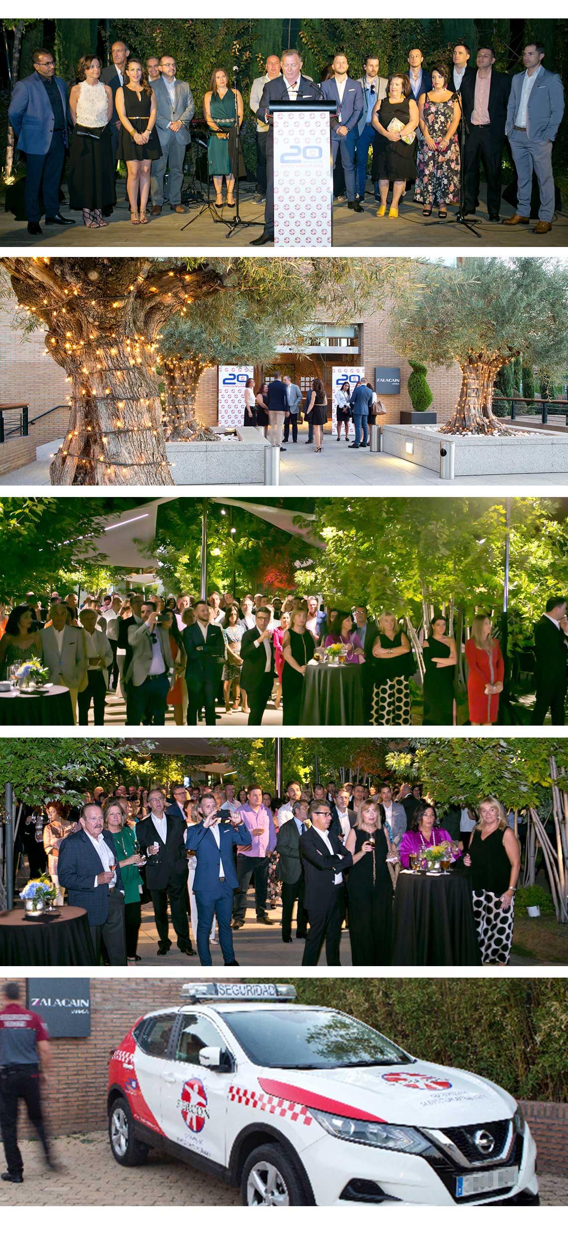 Evento Aniversario Grupo Sercon empresa de Seguridad y Servicios Integrales