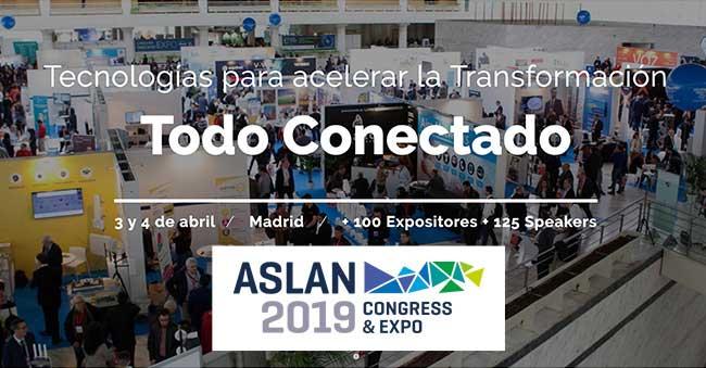 Expo empresas de seguridad en Madrid ASLAN 2109