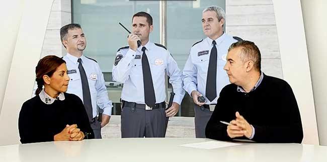 empresas de seguridad privada y vigilantes de seguridad comisaría Madrid inspección