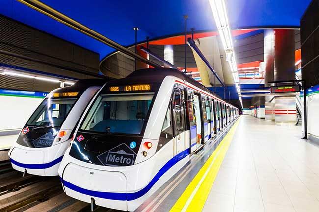 Metro de Madrid seguridad transporte público