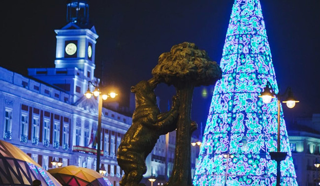 nuevo plan especial de seguridad en Madrid Navidades