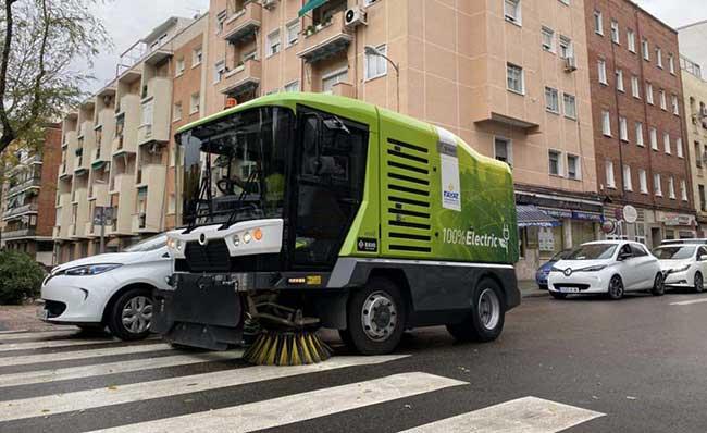 servicios integrales de limpieza en Madrid medios eco
