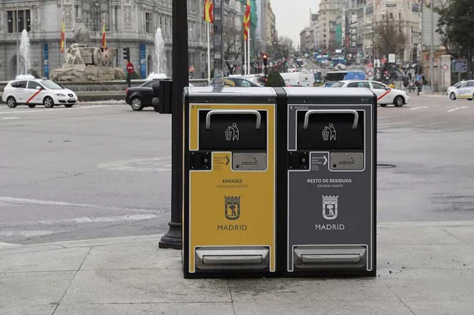 servicios integrales de limpieza en Madrid y recogida de residuos